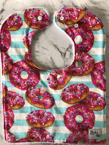Delish donuts Feeding Bib