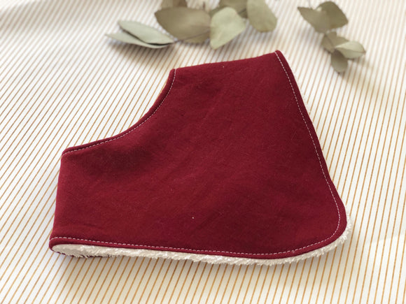 Solids- Savanah Dribble Bib