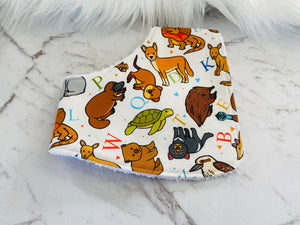 Animals Dribble Bib