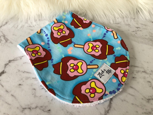 Bubble o bill Burp Cloth
