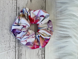 Mini gumnut scrunchie