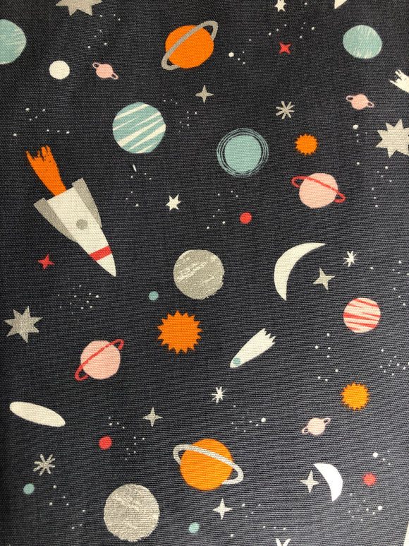 Space construction Playmat