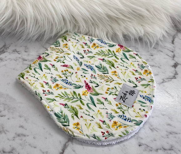 Leafy Burp Cloth