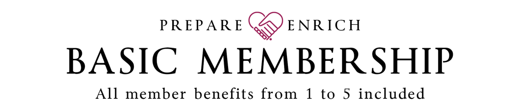 PREPARE/ENRICH Basic Membership (1 Year)
