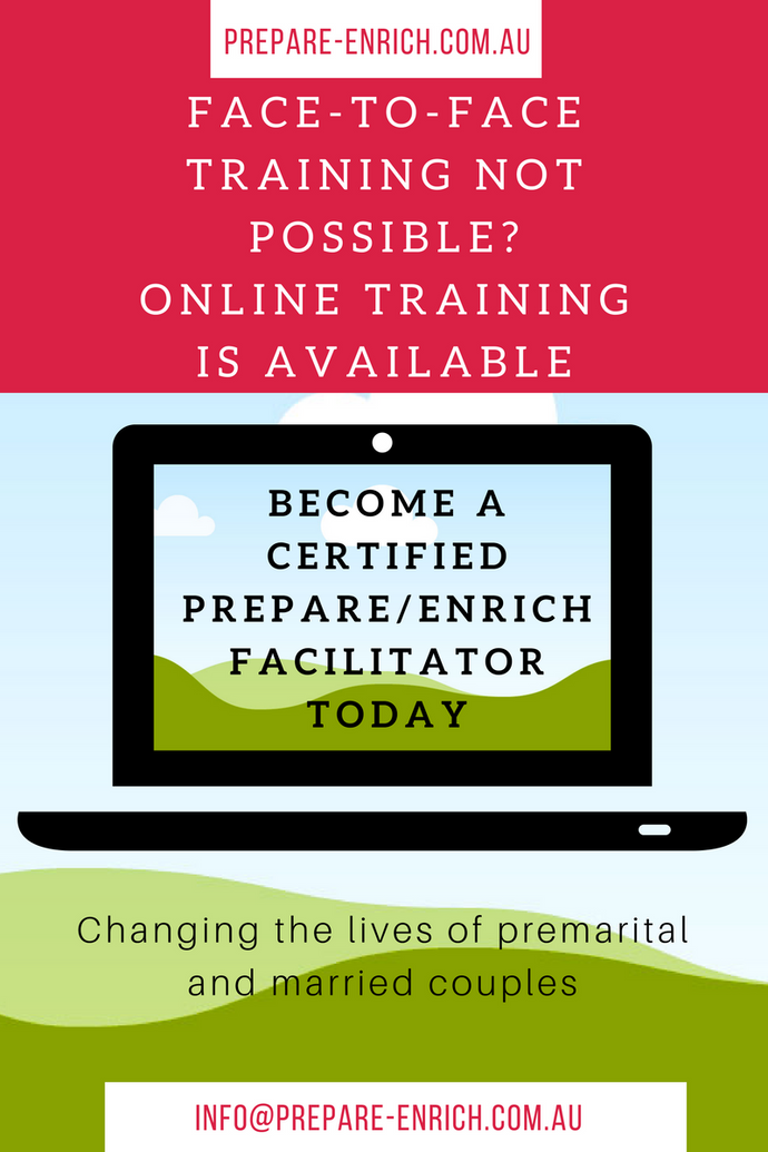 PREPARE/ENRICH online self-directed training course - for new facilitators