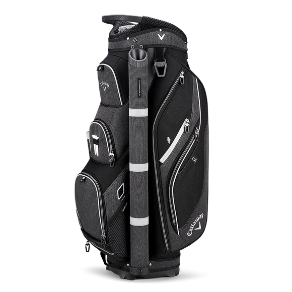 CALLAWAY FORRESTER CART BAG - Black/Silver