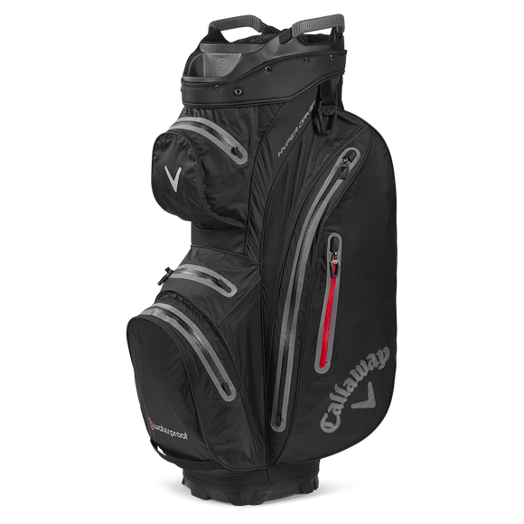 CALLAWAY Hyper Dry Cart Bag - Black/Charcoal