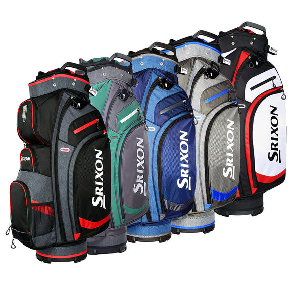 SRIXON PERFORMANCE CART BAG -Black/Grey/Red