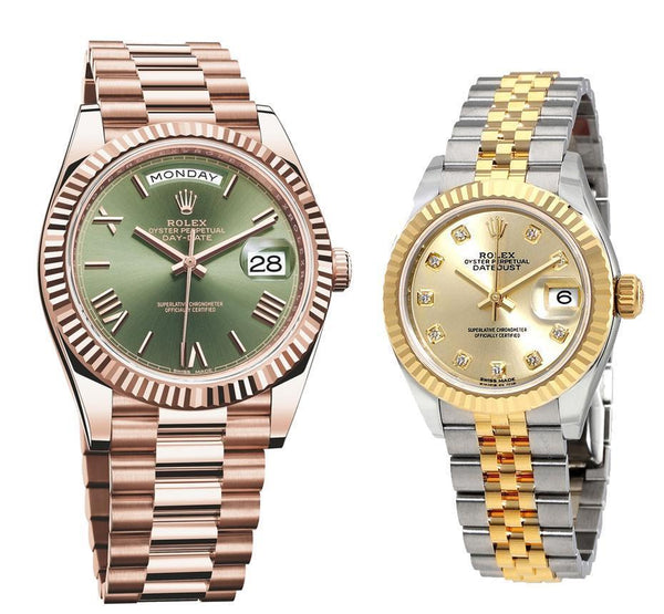 Rolex Day Date Couple Collection 899