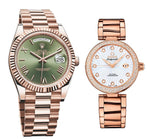 Romega Rosegold  wow Couple