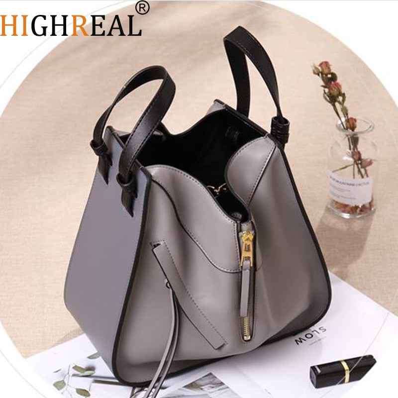 1e83967dbcb Bag Female Women's 100% Genuine Leather Bags Handbags Crossbody Bags for  Women Shoulder Bags Genuine Leather bolsa feminina Tote