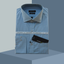 SUPERIORSHIRT 0034-SKY BLUE CHECK