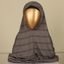 PERDA SCARF CHECK-GREY