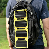 sunsaver power flex Solar charger on bag