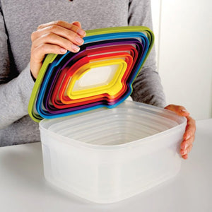 Joseph Joseph | Nesting Storage Set | Multi color