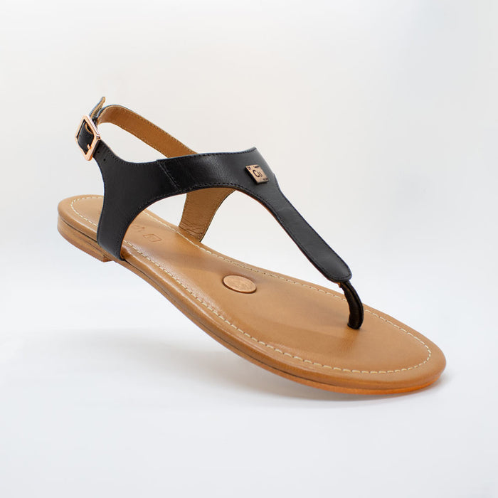 Black Coffee Grounding Sandals