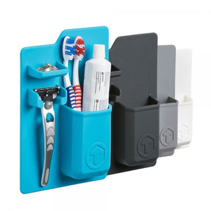 Journeyman | Toothbrush and Razor Organizer | Blue