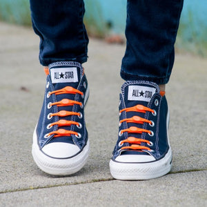Hickies | No-tie Shoelaces | Orange