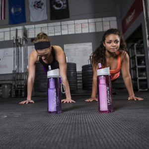 Lifestraw | Go Water Bottle| Purple