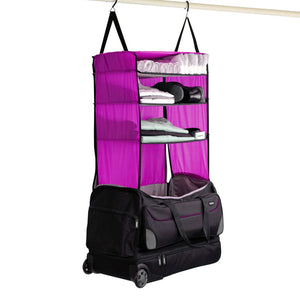 Rise Gear | Weekender Collapsible Bag | Pink