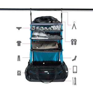 Rise Gear| Riser Collapsible Shelf Inserts| Blue