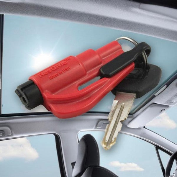 Resqme | Original Key chain Car Escape | Red