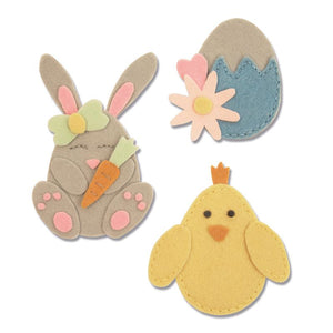 Sizzix Die Bunny Chick & Egg