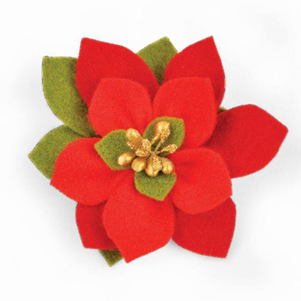 Sizzix Bigz Die Build a Bloom Poinsettia