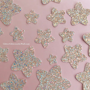 Amazing Star Glitter Glitter On The Wall Exclusive