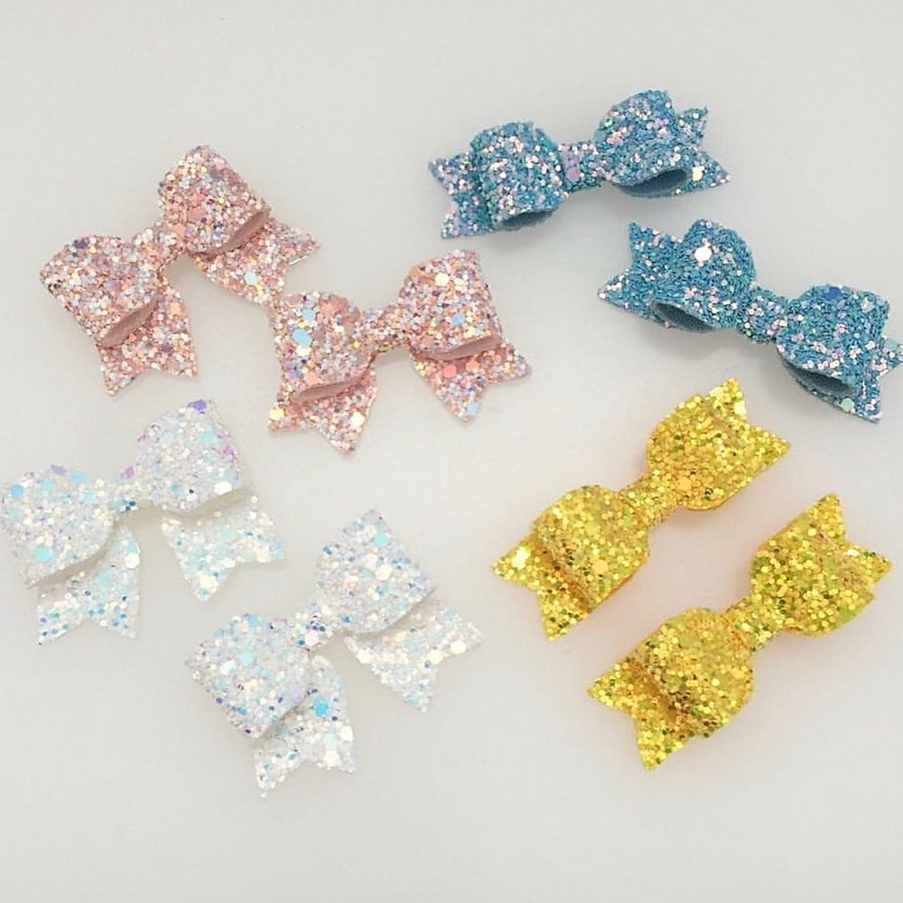 Baby Quad Bow Die Glitter Glitter On The Wall Exclusive