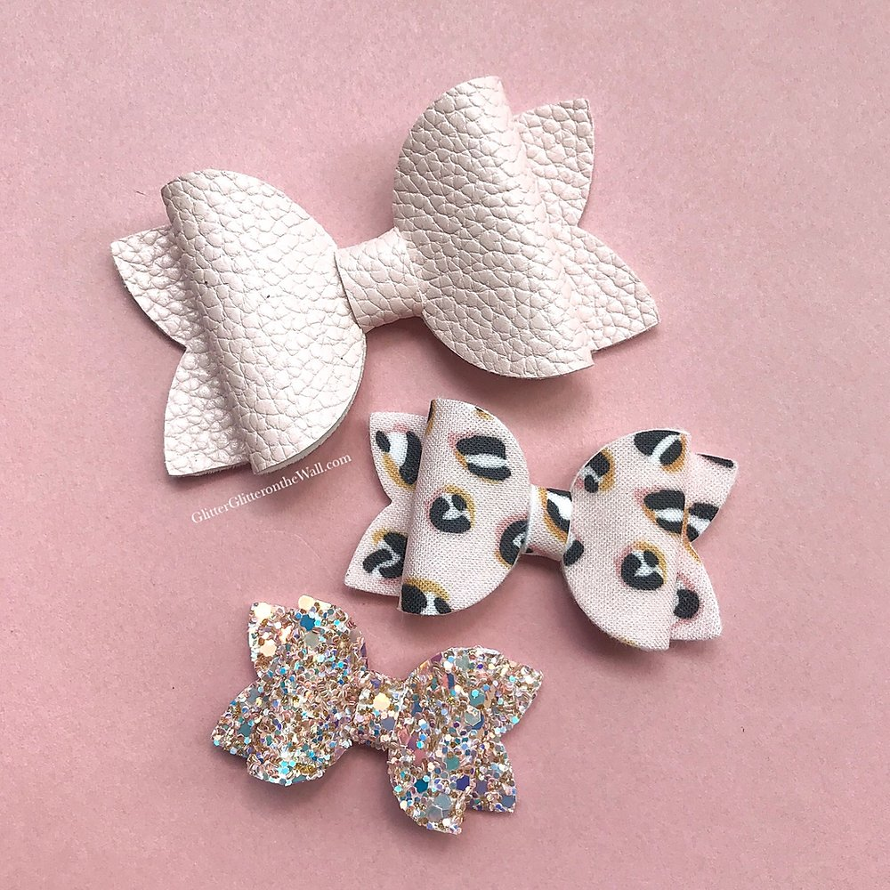 Large Beauty Bow Trio Die Glitter Glitter On The Wall Exclusive