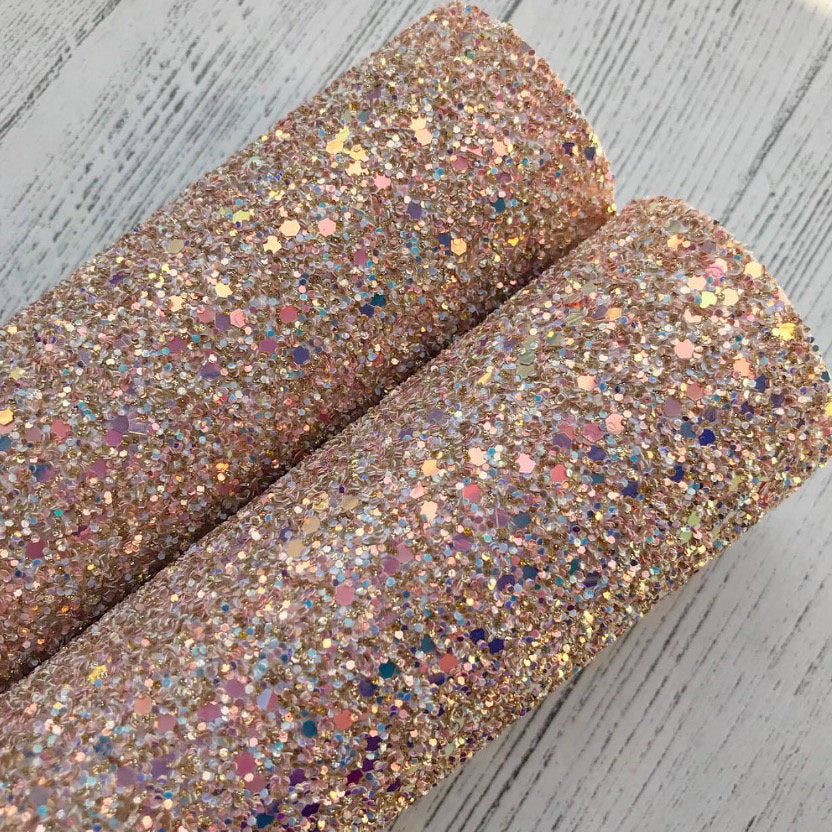 Blush Beauty Chunky Glitter