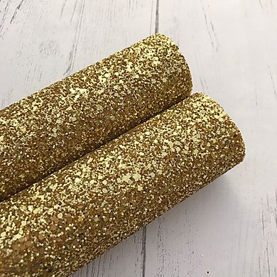 The Queen Gold Chunky Glitter