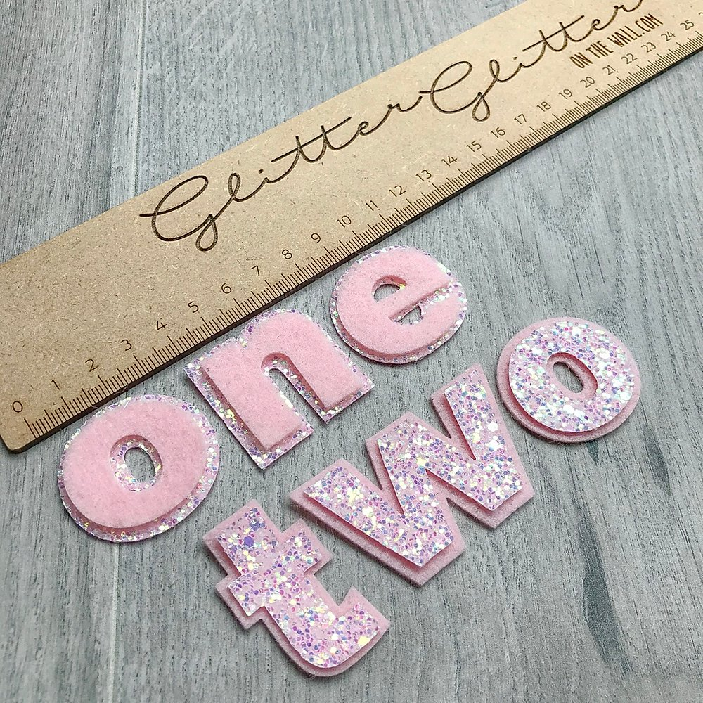 One & Two Word Die Glitter Glitter On The Wall Exclusive