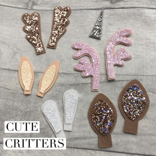 Cute Critters Die Glitter Glitter On The Wall Exclusive