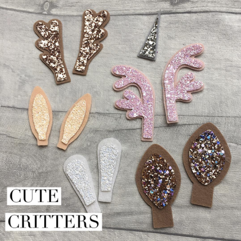 Cute Critters Die Glitter Glitter On The Wall Exclusive PREORDER MARCH
