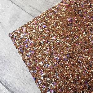 Drama Queen Rose Gold Chunky Glitter