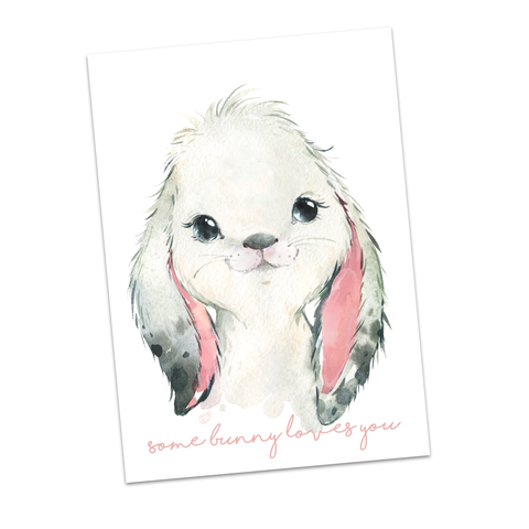 Some Bunny Loves You Bow Display Cards