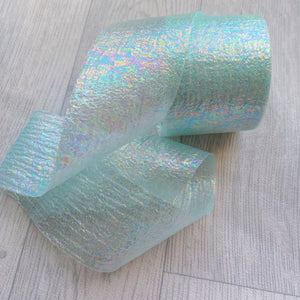 Mint Fairy Silk Tulle 6cm