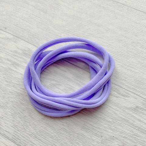 Darling Nylon Headbands Lavender