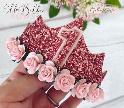 Ella Bella Tiara Die Glitter Glitter On The Wall Exclusive