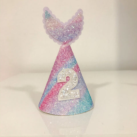 Mermaid Party Hat Die Glitter Glitter On The Wall Exclusive