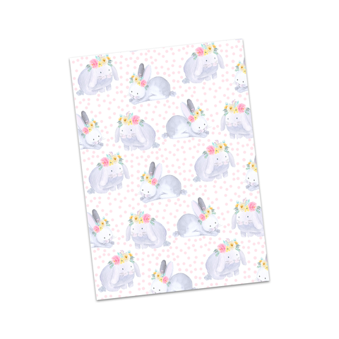Polka Dots & Bunnies Bow Display Cards