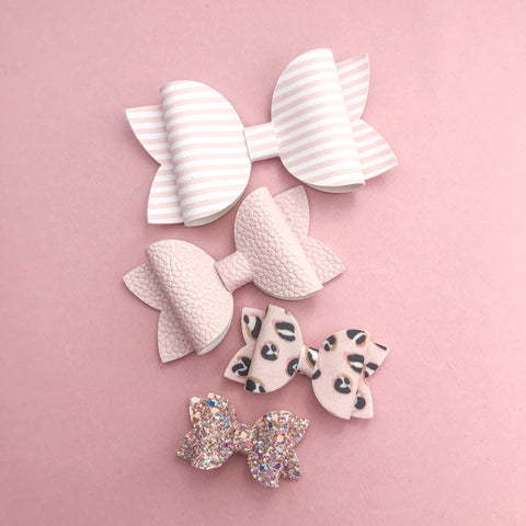 Beauty Bow Template Plastic 4 sizes