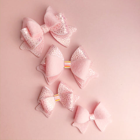 Dreamy Bow Template plastic