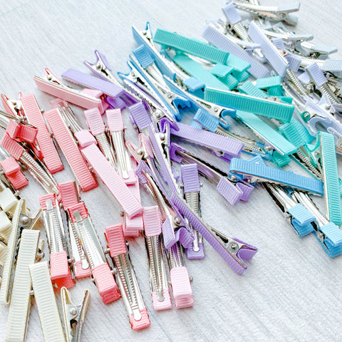 Lined Alligator Clips 43mm