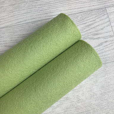 Leaf Green 100% Merino Wool Felt