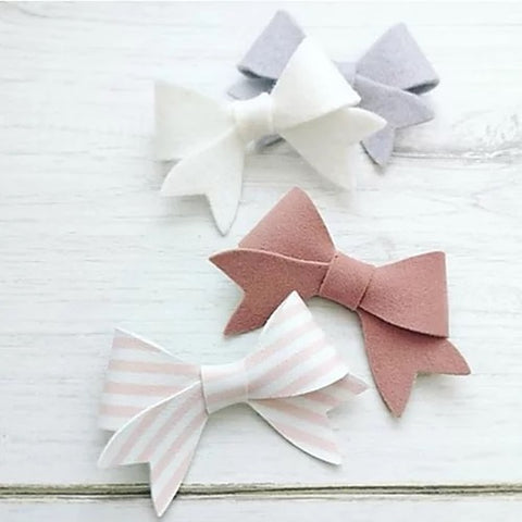 Little Lovelie Bow Template plastic