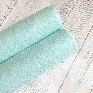Mint Green 100% Merino Wool Felt
