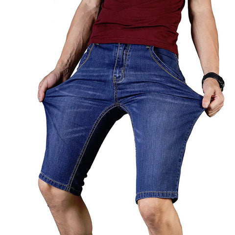 Length Casual Business Shorts Jeans